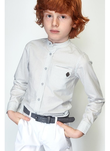 Nebbati Erkek Çocuk Desenli Gömlek 19SS0NB3610 Renkli